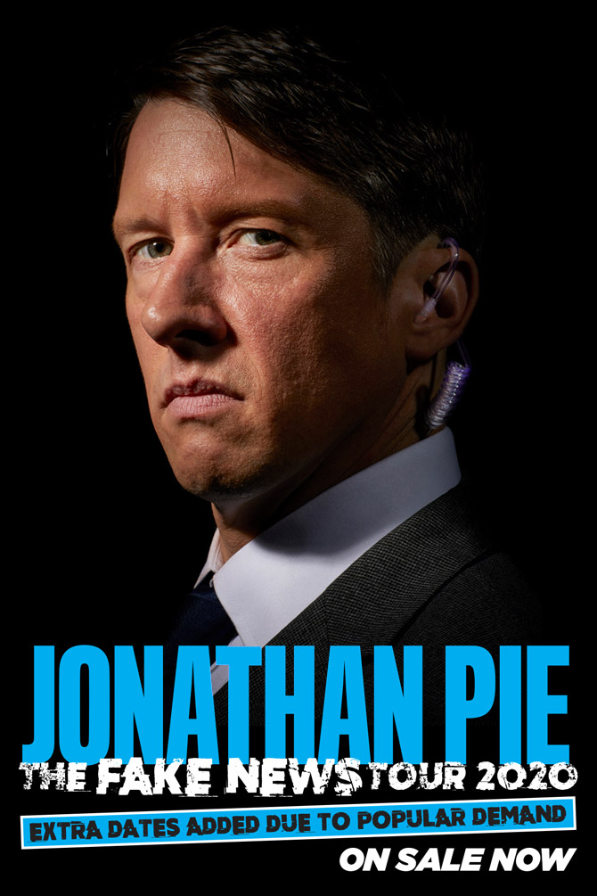 Jonathan Pie: The Fake New Tour 2020