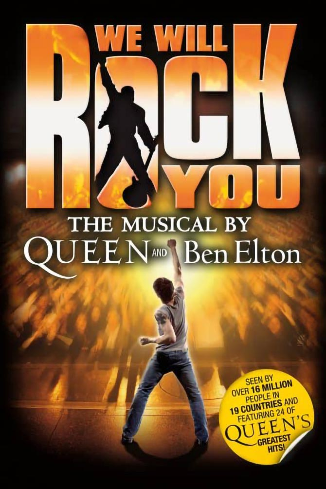 We Will Rock You: The Musical